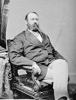 Alexander Bullock - Portrait by Mathew Brady, c. 1860-65