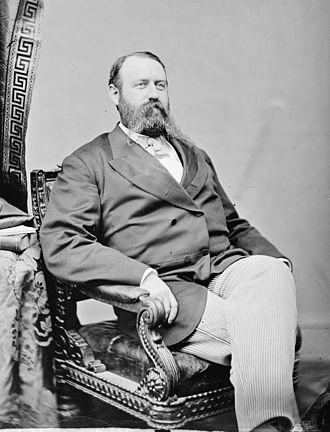 Alexander Bullock - Portrait by Mathew Brady, c. 1860 – 1865