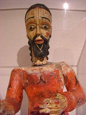 Harwood Museum of Art - Spanish colonial bulto, Harwood Museum of Art, Taos