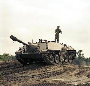 Kanonenjagdpanzer - A Kanonenjagdpanzer in 1968