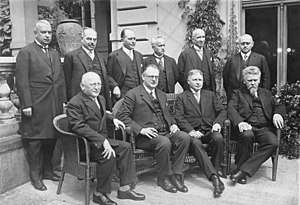 Hermann Müller (politician) - Müller's cabinet, June 1928.