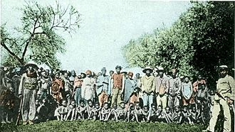 German South West Africa - Nama POWs around 1900