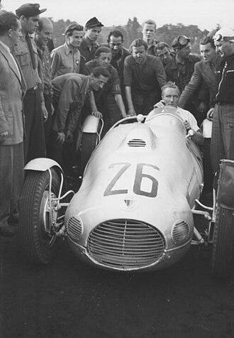 Manfred von Brauchitsch - Manfred von Brauchitsch in 1951.