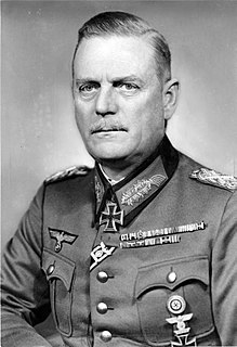 German Field Marshal and chief of the Wehrmacht high command