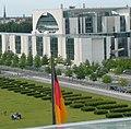 Bundeskanzlerinnenamt von der Reichstagskuppel - panoramio.jpg