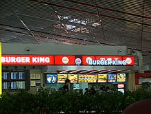 A Burger King in Beijing, China
