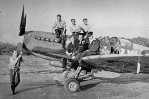 No. 322 (Dutch) Squadron RAF - Image: Burgwal bij de propellor