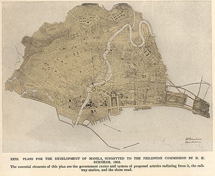 The Burnham Plan of Manila. BurnhamPlanOf-Manila.jpg