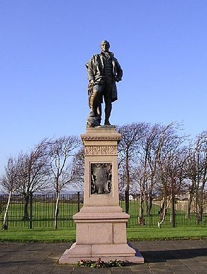 James Pittendrigh Macgillivray - Statue of Burns in Irvine
