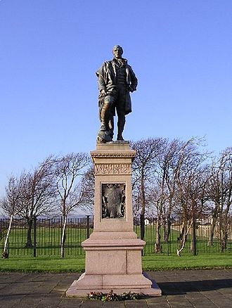 James Pittendrigh Macgillivray - Statue of Burns in Irvine
