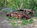 Burnt out Vauxhall Corsa in Middleton, Leeds.jpg
