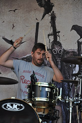 Bury Tomorrow - Drummer Adam Jackson at Summerblast Festival 2014