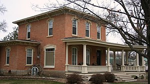 National Register of Historic Places listings in Olmsted County, Minnesota - Image: Bush House Dover MN