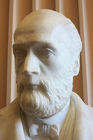 Alexander Dickson (botanist) - Bust of Alexander Dickson by Charles McBride (1889) Old College, Edinburgh University