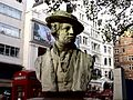 Bust of Reynolds - Leicester Square Gardens, London (4039234293).jpg