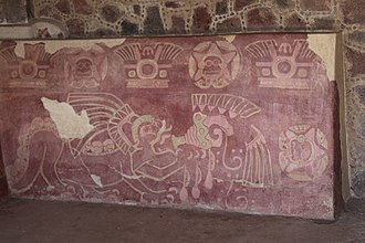 Painting in the Americas before European colonization - Image: Butterfly Palace IMG 7281