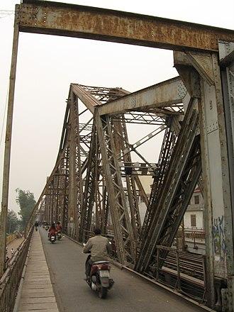 Long Biên Bridge - Image: Cầu Long Biên