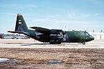 C-130E Hercules of 154th AS Arkansas ANG at Andrews AFB 1993.jpeg