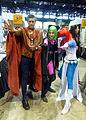 C2E2 2014 - Doctor Strange, Polaris & Mystique (14249062866).jpg