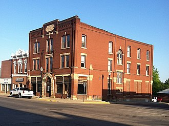 National Register of Historic Places listings in Brown County, Minnesota - Image: C Berg Hotel