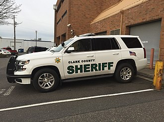 Clark County, Washington - A patrol car of the Clark County Sheriff's Department.
