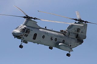Boeing Vertol CH-46 Sea Knight 1958 airlift helicopter family by Boeing-Vertol