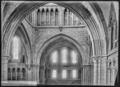 CH-NB - Lausanne, Cathédrale protestante Notre-Dame, vue partielle intérieure - Collection Max van Berchem - EAD-7305.tif