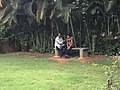 CIS-A2K Director Vishnu Vardhan interviewing Malayalam Wikipedian Netha Hussain.jpeg