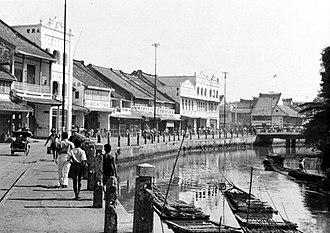 East Indies - Batavia, Dutch East Indies.