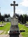 CZE Český Těšín Svibice Hřbitov - krzyż cmentarny.JPG