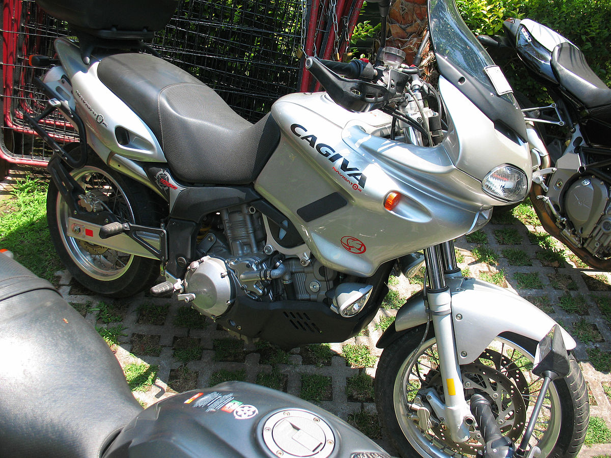 Cagiva River  Cafe Racer