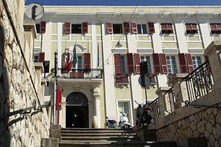 Metropolitan City in Sardinia, Italy