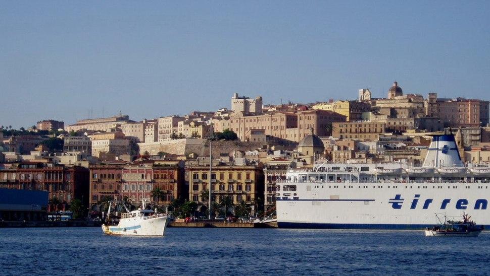Cagliari vista mare