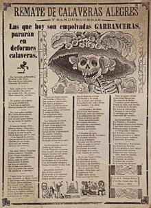 Calavera Literaria Wikipedia La Enciclopedia Libre