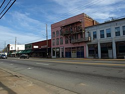 The Calera Downtown Historic District was listed on the National Register of Historic Places on March 29, 2006.