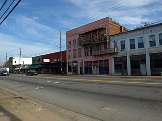 Calera, Alabama - The Calera Downtown Historic District was listed on the National Register of Historic Places on March 29, 2006.