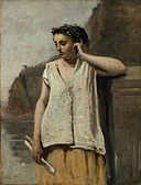 Camille Corot - The Muse History, 1865.jpg