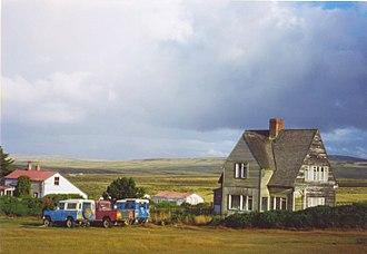 Camp (Falkland Islands) - A Camp settlement.