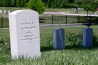 Camp Butler National Cemetery - German POW graves