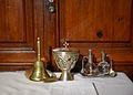 Campaneta, calze i setrills, església de santa Anna de Borbotó.JPG