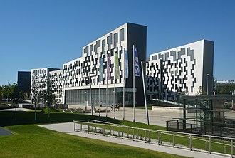 Vienna University of Economics and Business - Departement 4, planned by Estudio Carme Pinós