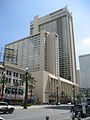 Canal St NOLA CBD Sept 2009 Palace Marriott.JPG