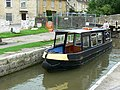 Canal boat on the way up the Kennet and Avon canal (5) - geograph.org.uk - 1443286.jpg