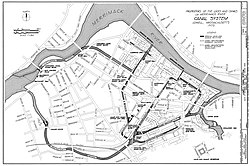 Lowell's canal system - today