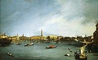 Canaletto The Bacino di San Marco, Venice, Seen from the Giudecca NTII UPH 446806.jpg