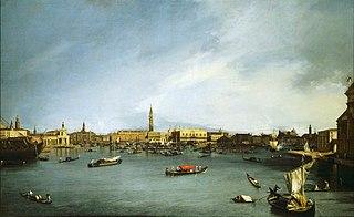 Le Bassin de Saint-Marc, Venise, vu de la Giudecca