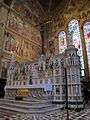 Cappella tornabuoni smn, altare maggiore 02.JPG