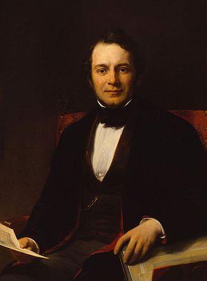 Museum Fodor - Portrait of Carel Joseph Fodor (1848) by Jan Willem Pieneman