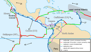 Maracaibo Basin - Caribbean plate tectonics-en