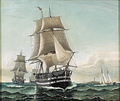 Carl Bille - En eskadre sejlskibe.png